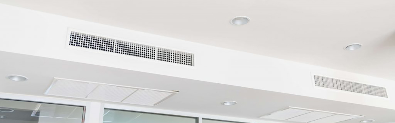 Picture showing a Ducted air conditioning vents